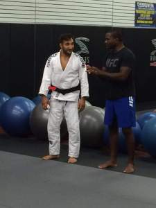 Professor Esposito with Master Din Thomas