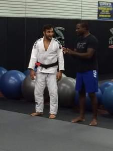 Professor Esposito with Master Din Thomas